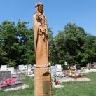 Szent Rozália-szobor