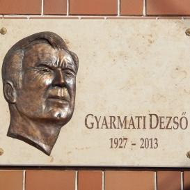 Gyarmati Dezső-emléktábla