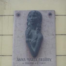 Erdődy Anna Mária emléktáblája