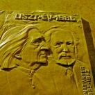Liszt Ferenc és Harmat Artúr domborműves emléktáblája