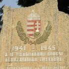 II. világháborús emlékkő