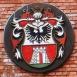 Nagykanizsa címere a Várkapu emlékművön
