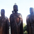 Szent István király, Boldog Gizella és Szent Imre herceg