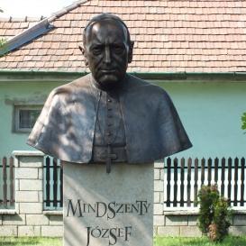 Mindszenty József-mellszobor
