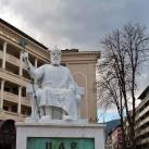 Sámuel cár szobra