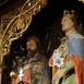 A Szent Imre-oltár szobrai