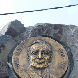Wass Albert emlékkő
