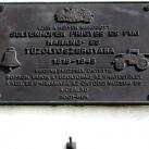 Seltenhofer Frigyes és Fiai-emléktábla