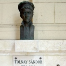 Tolnay Sándor mellszobra