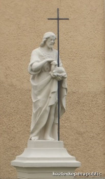 Keresztelő Szent János szobra