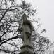 Szent Miklós és Szent Vendel szobrok