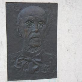 Zimmermann Ágoston emléktáblája
