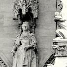 Országház - nyugati homlokzat: Mária Terézia főhercegnő