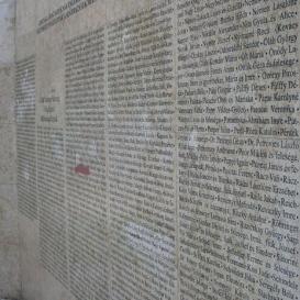 Igazak Fala emlékmű