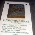 Istókovits Kálmán-emléktábla