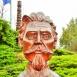 Schweidel József szobra