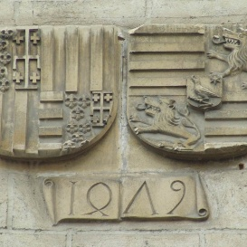 Mátyás király és Beatrix címere