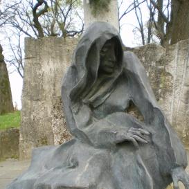 A második világháború áldozatainak emlékműve