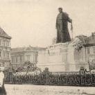 Kiss Ernő egykori szobra