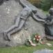 Az 1956-os sortűz áldozatainak emlékműve