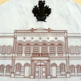 A Városháza építésének évfordulós emléktáblája
