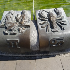Állatövi jegyes-szökőkút