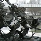 Tiszavirágzás szobra