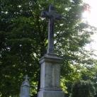Temetőparki síremlék