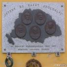 1848-49-es szabadságharcban részt vett premontrei kanonok emlékére