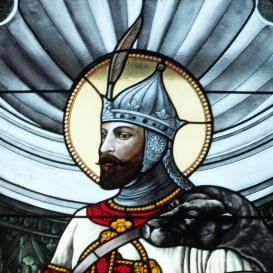 A Ludovika Főépület kápolnájának üvegablaka