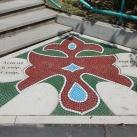 Mozaik díszburkolat