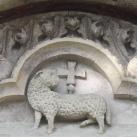 Jáki templom déli kapuja