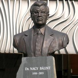 Dr. Nagy Bálint mellszobra