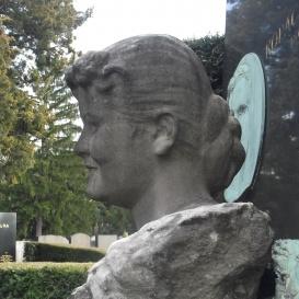 Kopácsy Juliska síremléke