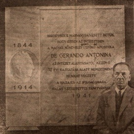 De Gerando Antonina emléktáblája