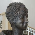 Mária Ludovika-mellszobor