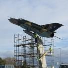 MiG-21 emlékmű