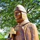 Boldog Bánfi Buzád szobra