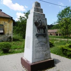 I. világháborús áldozatok emlékműve