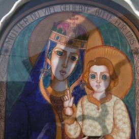 Szűz Mária a gyermek Jézussal