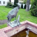 Kecske gidával-szobor