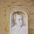 Balás Árpád portrédomborműve