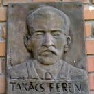 Takács Ferenc utcanévtábla
