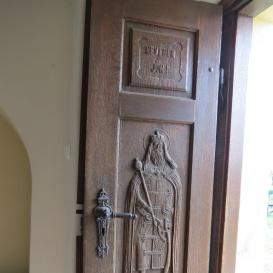 A Szent Ferenc-templom ajtódísze