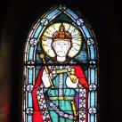 Jászszentandrási római katolikus templom üvegablakai