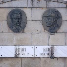 Petőfi Sándor és Bem József emlékmű