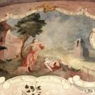 Forgách Ludmilla grófnő szobájának falképei