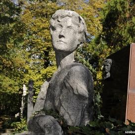 Zilahy Gyula és Singhoffer Vilma síremléke