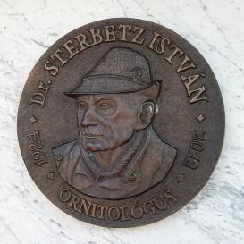 Sterbetz István-emléktábla
