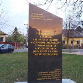 Thuri Farkas Pál-emlékoszlop
